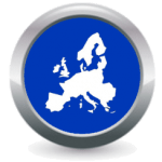 Icon Buttons Transport Logistics European Services