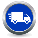 Icon Buttons Transport Logistics Off-Shore Services
